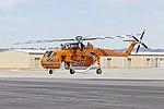 Erickson (N176AC) Sikorsky S-64E taxiing at Wagga Wagga Airport (6).jpg