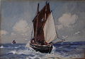 Ernest Dade - A Penzance Boat Off To The Fishing Grounds.jpg