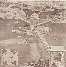 Ernest Stowe Proposed Sydney Harbour Bridge
