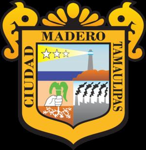 Ciudad Madero - Image: Escudo Ciudad Madero