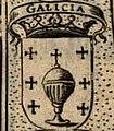 Escudo da Galiza em Relacion del Iuramento que hizieron los Reinos de Castilla i Leon (1632).jpg