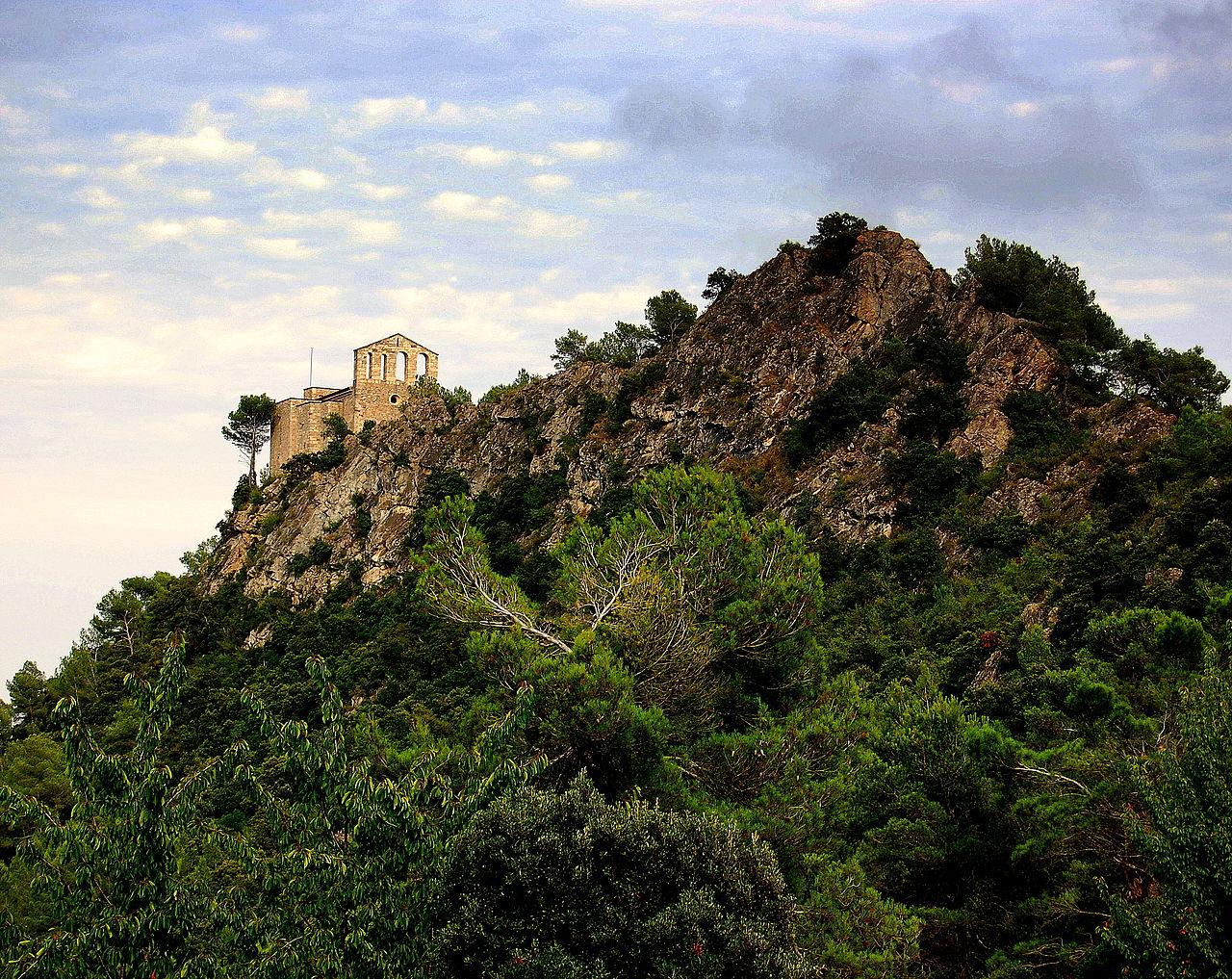 Iglesia del Castillo de Foix -Torrelles de Foix (Angela Llop, 2010)