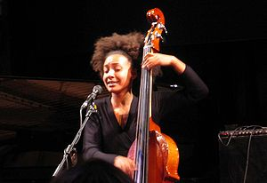 Esperanza Spalding - Spalding performing at the Umbria Jazz Festival in Perugia, Italy, on July 12, 2007.