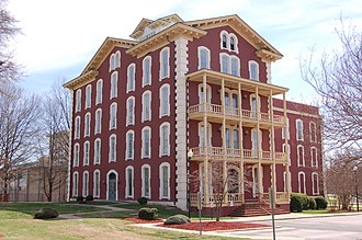 Shaw University - Estey Hall, 2008 - built in 1873 as first female dorm at a co-ed college in the United States
