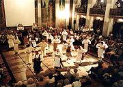 Estonian folk dancing