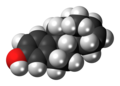 Estratetraenol molecule spacefill.png