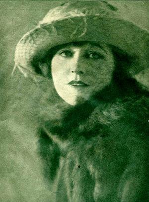 Ethel Clayton - Photograph by Melbourne Spurr, 1922.