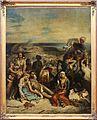 Eugène delacroix, scena di massacro a scio, famiglie greche che attendono la morte o la schiavitù, 1824, 01.jpg
