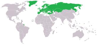 Eutelsat - European Telecommunications Satellite Organization membership