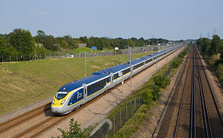 A type of high speed train, build by Siemens and used by Eurostar