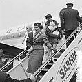 Evacuatie uit Belgisch Congo te Brussel vliegveld Zavente, Bestanddeelnr 911-3496.jpg
