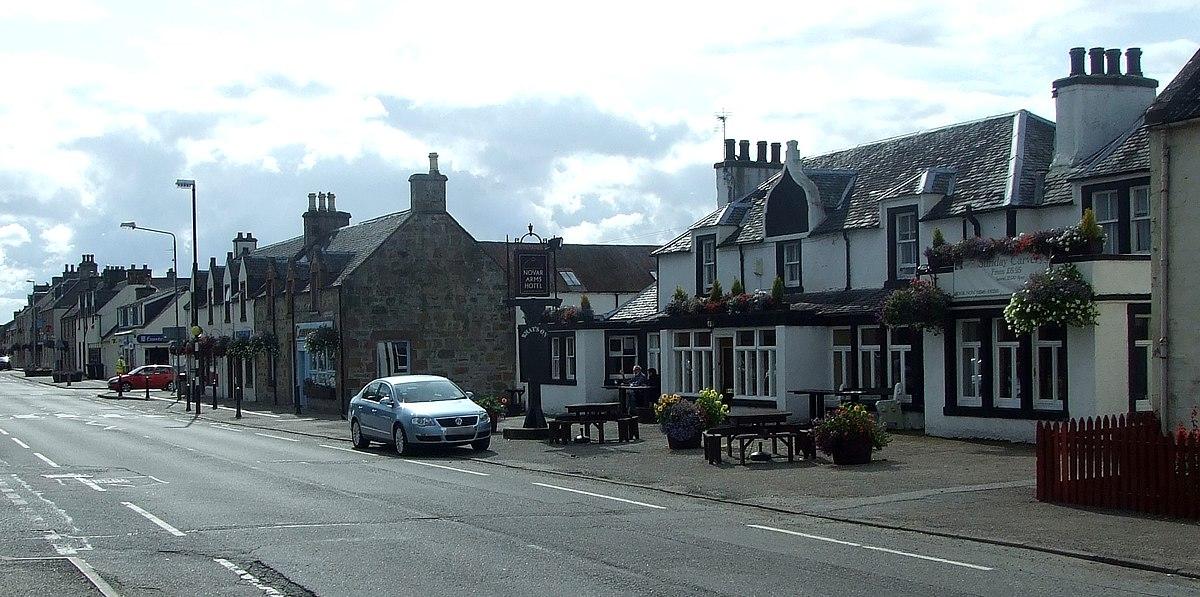 Scottish Town  Letters Crossword Clue