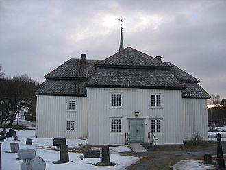 Evenes - Evenes Church, 15 March 2008.