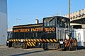Ex-Southern Pacific 5100, GE switcher, at ORHC in 2013.jpg