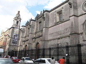 Santa Teresa la Antigua - The Santa Teresa la Antigua building