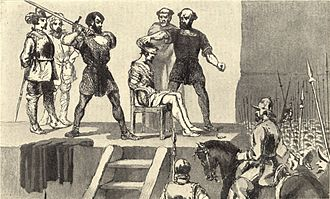 Vasco Núñez de Balboa - Image of the execution of Balboa in Vasco Nuñez de Balboa by Frederick A. Ober