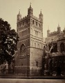 Exeter Cathedral, the Northwest Tower by Francis Bedford.tif
