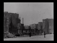 File:Exploded gas tanks, U.S. Mint, Emporium and Spreckels Bld'g -.webm