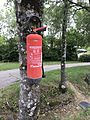 Extincteur sur arbre (Ardèche Camping) - 2.JPG