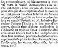 Extrait de l'article LA TROISIEME EXPOSITION DE L'UNION CENTRALE - La Presse - 5 octobre 1865 - page 3 - 5ème colonne.jpg