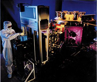 Extreme ultraviolet lithography - EUVL tool, Lawrence Livermore National Laboratory.