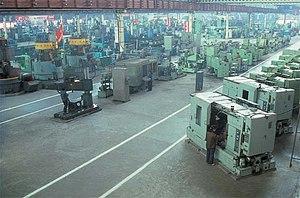 Huichon - Image: Fábrica máquinas herramienta Huichón (2)