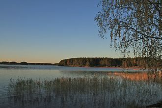 Färnebofjärden National Park - Along its new course, the river created a mosaic of water, marsh, and forest