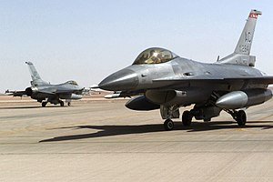 Operation Southern Watch - Image: F 16s Southern Watch