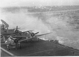VF-191 - F6F-5s on the USS Lexington in 1944