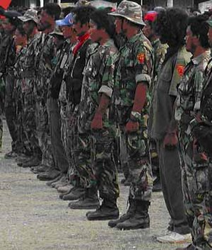 Timor Leste Defence Force - FALINTIL veterans