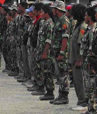 Timor Leste Defence Force - FALINTIL veterans