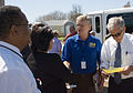 FEMA - 39180 - Congressman Ron Paul Visits Red Cross Shelter in Galveston.jpg