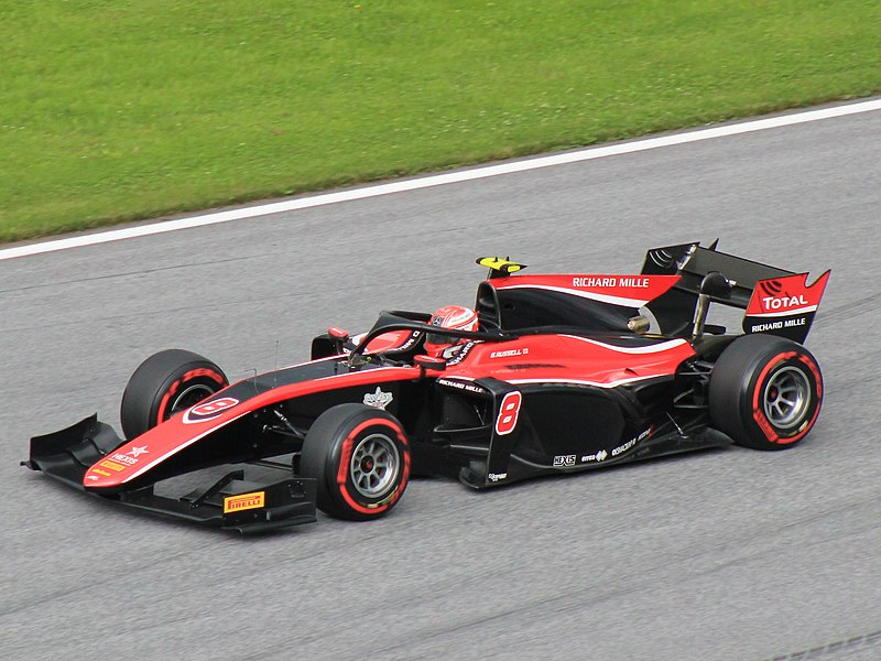 George Russell F2 (2018)