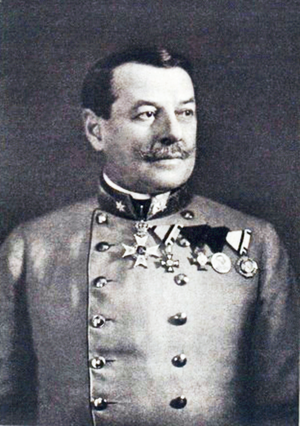 Viktor Graf von Scheuchenstuel - Viktor von Scheuchenstuel ca. 1910 (as major general) by Carl Pietzner