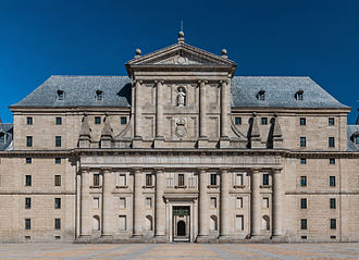 El Escorial - West facade of the monastery