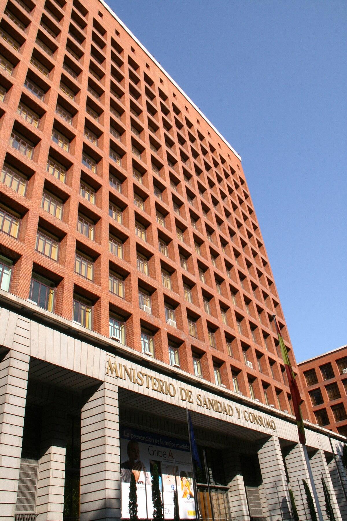 Sistema nacional de salud espa a wikipedia la - Trabajo arquitecto madrid ...