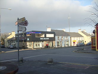 Falcarragh - The crossroads on Falcarragh Main Street