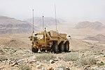Falcon Sqn FUCHS vehicle in Jordan MOD 45164581.jpg