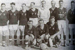 Fall River Marksmen - Fall River Marksmen squad in 1921.
