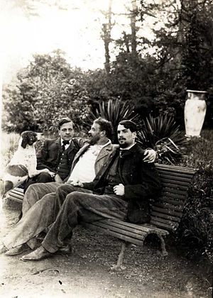Edmond Lachenal - Edmond Lachenal (center)
