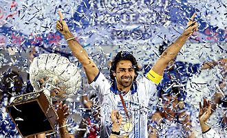 Persian Gulf Pro League - Esteghlal celebrate the championship in 2013.