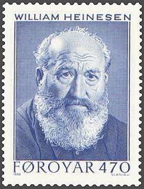 Faroe stamp 164 william heinesen.jpg