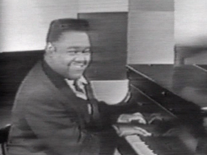 1956 in music - Hitmaker Fats Domino in 1956