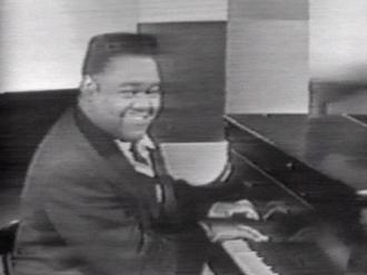 1956 in music - Hitmaker Fats Domino in 1956