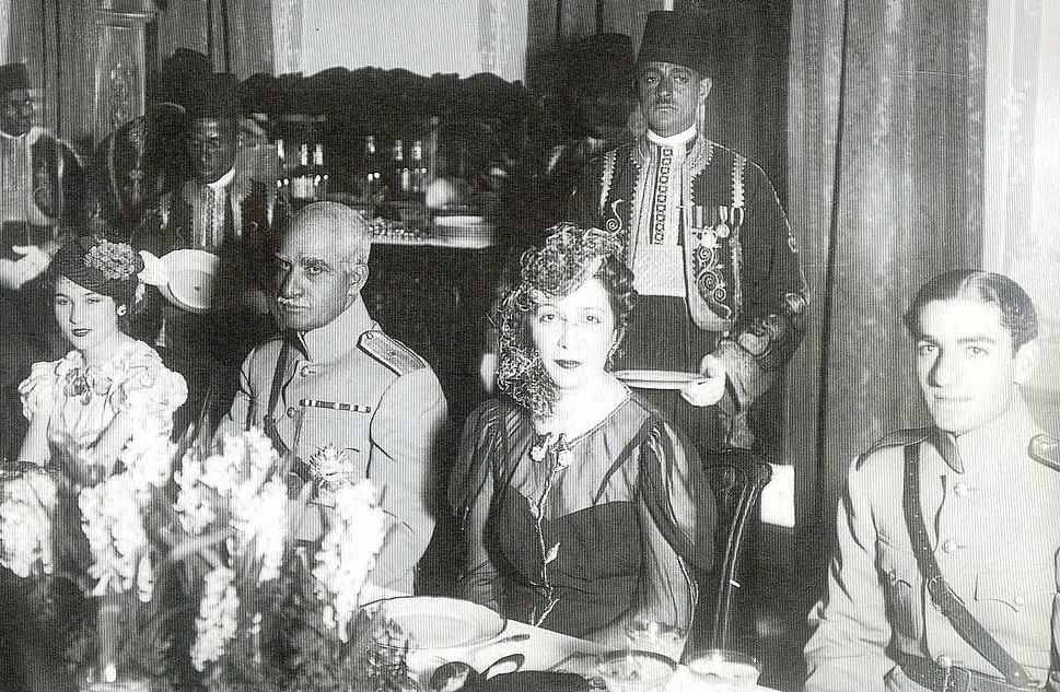Fawzia-RezaShah-Nazli-MohammadRezaPahlavi