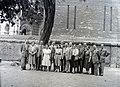 Felső erdősori Általános iskola tanári kara 1948, Budapest. Fortepan 105239.jpg