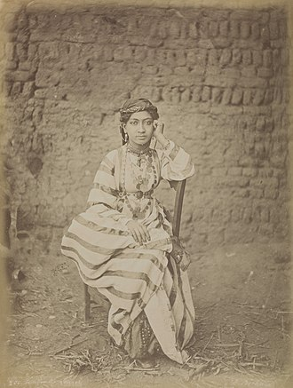 Don McCullin - Émile Béchard, Femme du Luxor from McCullin's personal selection of photographs from the National Media Museum's collection, 2009.