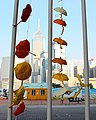 Fence around Hong Kong Government Building during Occupy Central 2014 - panoramio.jpg