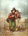 Ferdinand Marohn Wanderzirkusknabe mit Äffchen.jpg
