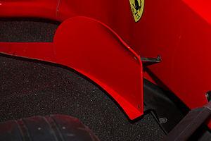 1999 Malaysian Grand Prix - Ferrari F399's bargeboard